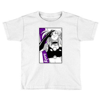 Ryoko Spacepirate Toddler T-shirt Designed By Paísdelasmáquinas
