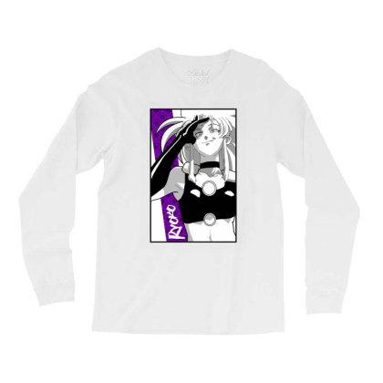 Ryoko Spacepirate Long Sleeve Shirts Designed By Paísdelasmáquinas