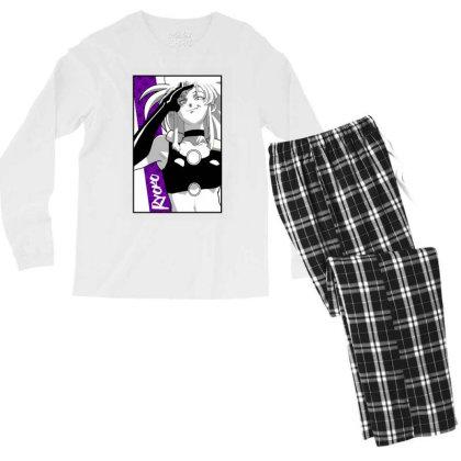 Ryoko Spacepirate Men's Long Sleeve Pajama Set Designed By Paísdelasmáquinas