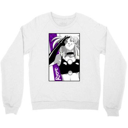 Ryoko Spacepirate Crewneck Sweatshirt Designed By Paísdelasmáquinas