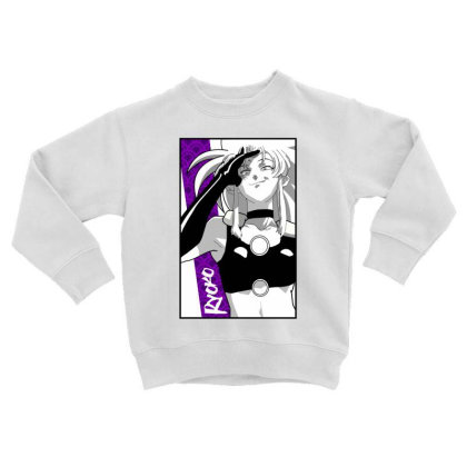 Ryoko Spacepirate Toddler Sweatshirt Designed By Paísdelasmáquinas