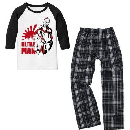 Ultraman Youth 3/4 Sleeve Pajama Set Designed By Paísdelasmáquinas