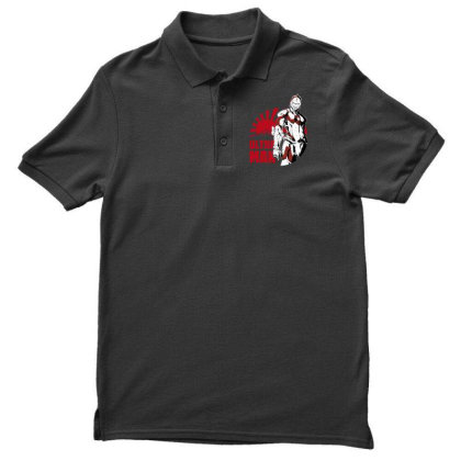 Ultraman Men's Polo Shirt Designed By Paísdelasmáquinas