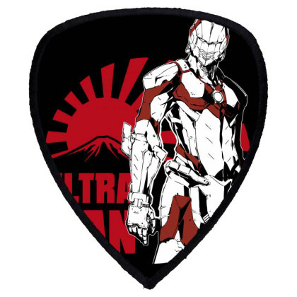 Ultraman Shield S Patch Designed By Paísdelasmáquinas