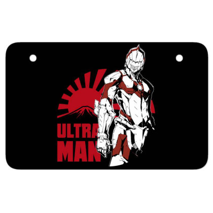 Ultraman Atv License Plate Designed By Paísdelasmáquinas