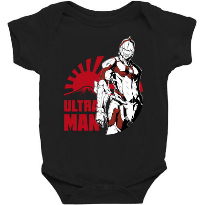 Ultraman Baby Bodysuit Designed By Paísdelasmáquinas