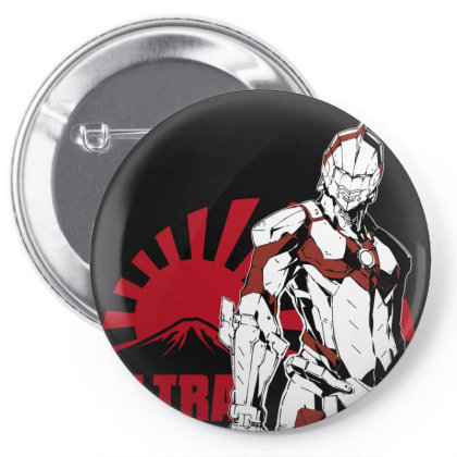 Ultraman Pin-back Button Designed By Paísdelasmáquinas