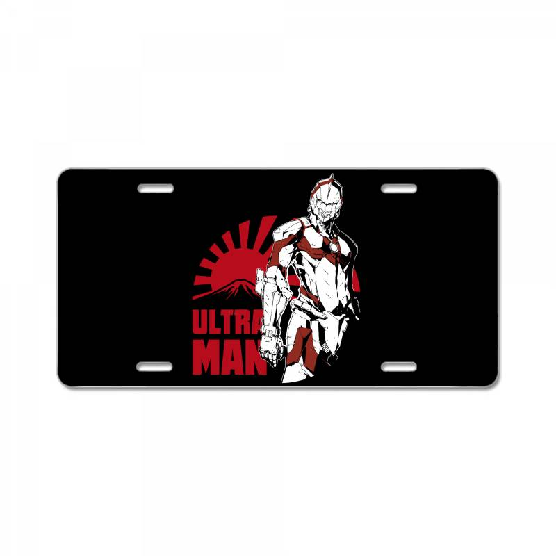 Ultraman License Plate   Artistshot