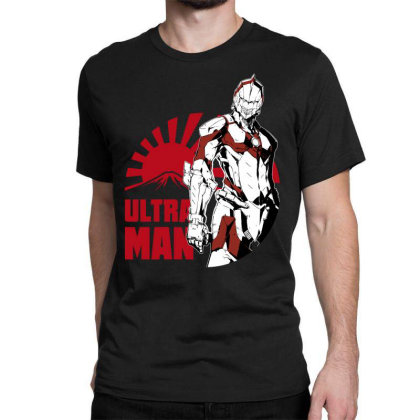 Ultraman Classic T-shirt Designed By Paísdelasmáquinas