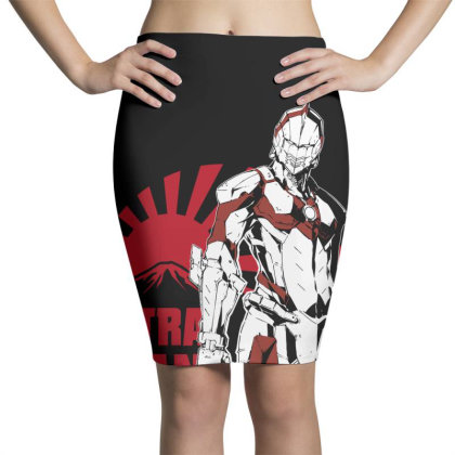 Ultraman Pencil Skirts Designed By Paísdelasmáquinas