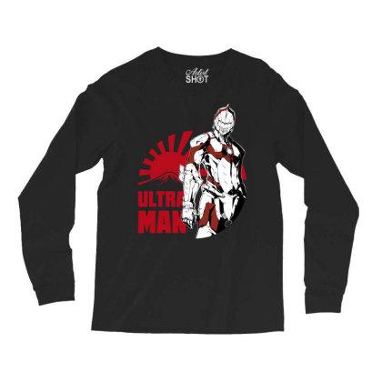 Ultraman Long Sleeve Shirts Designed By Paísdelasmáquinas