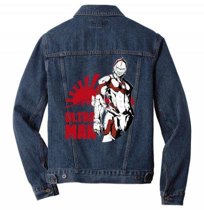 Ultraman Men Denim Jacket Designed By Paísdelasmáquinas