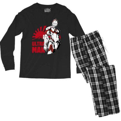 Ultraman Men's Long Sleeve Pajama Set Designed By Paísdelasmáquinas