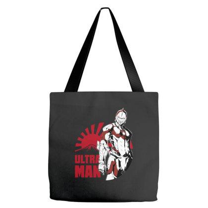 Ultraman Tote Bags Designed By Paísdelasmáquinas