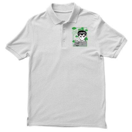 Yu Yu Hakusho Men's Polo Shirt Designed By Paísdelasmáquinas