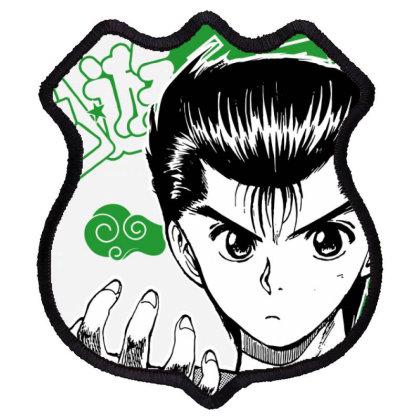 Yu Yu Hakusho Shield Patch Designed By Paísdelasmáquinas