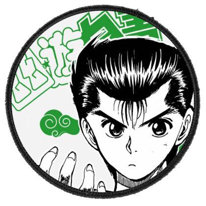 Yu Yu Hakusho Round Patch Designed By Paísdelasmáquinas