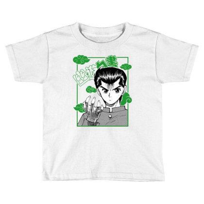 Yu Yu Hakusho Toddler T-shirt Designed By Paísdelasmáquinas
