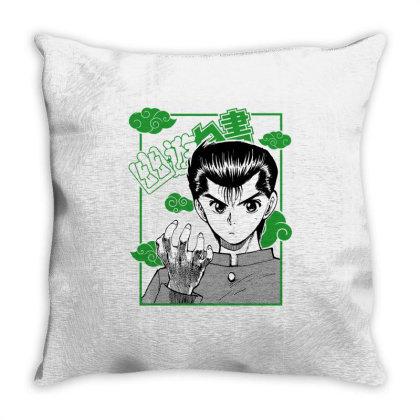 Yu Yu Hakusho Throw Pillow Designed By Paísdelasmáquinas