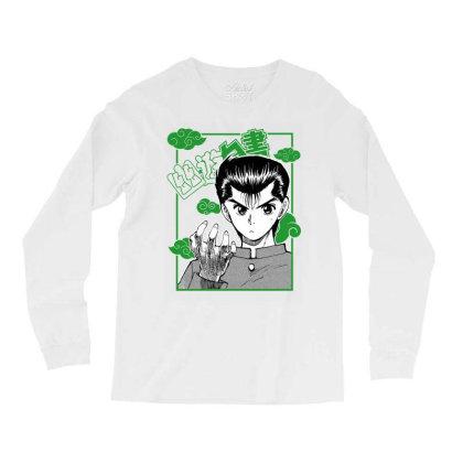 Yu Yu Hakusho Long Sleeve Shirts Designed By Paísdelasmáquinas