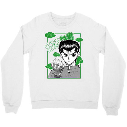 Yu Yu Hakusho Crewneck Sweatshirt Designed By Paísdelasmáquinas