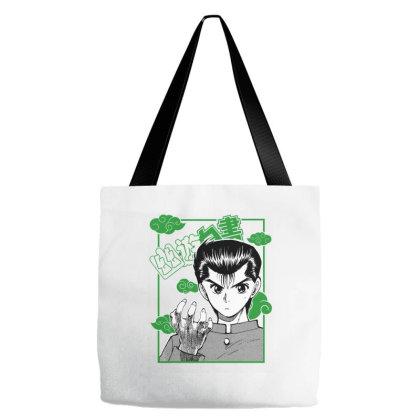 Yu Yu Hakusho Tote Bags Designed By Paísdelasmáquinas