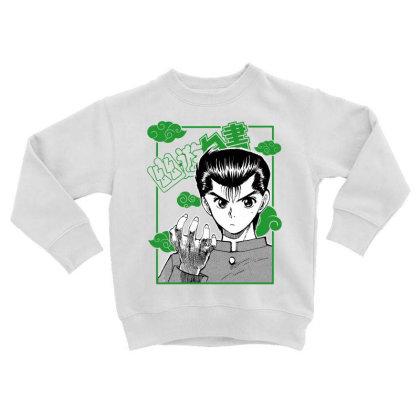 Yu Yu Hakusho Toddler Sweatshirt Designed By Paísdelasmáquinas