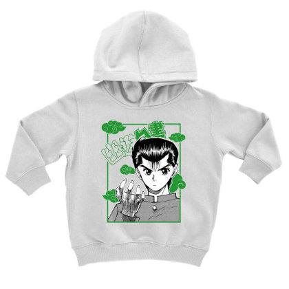 Yu Yu Hakusho Toddler Hoodie Designed By Paísdelasmáquinas
