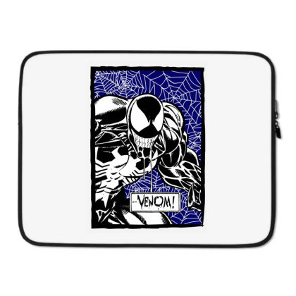 Venom Laptop Sleeve Designed By Paísdelasmáquinas