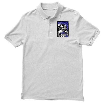 Venom Men's Polo Shirt Designed By Paísdelasmáquinas