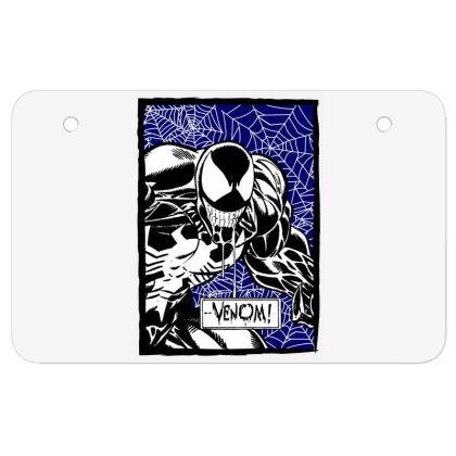 Venom Atv License Plate Designed By Paísdelasmáquinas