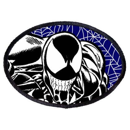 Venom Oval Patch Designed By Paísdelasmáquinas