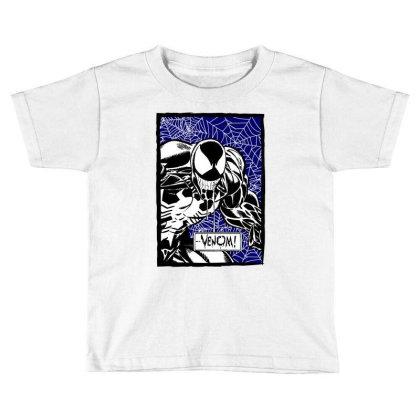 Venom Toddler T-shirt Designed By Paísdelasmáquinas