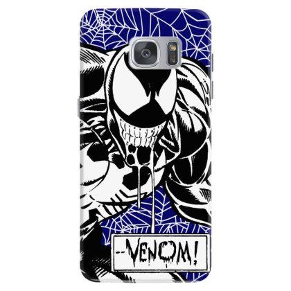 Venom Samsung Galaxy S7 Case Designed By Paísdelasmáquinas