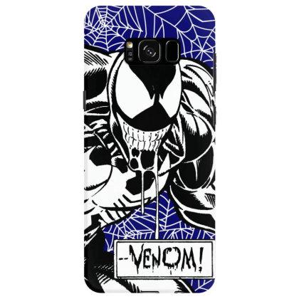 Venom Samsung Galaxy S8 Case Designed By Paísdelasmáquinas