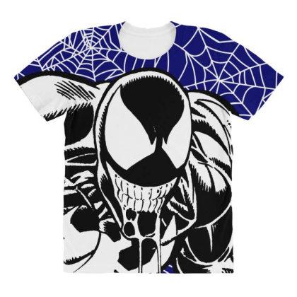 Venom All Over Women's T-shirt Designed By Paísdelasmáquinas