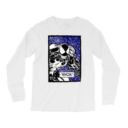 Venom Long Sleeve Shirts Designed By Paísdelasmáquinas