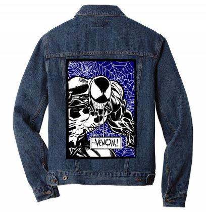 Venom Men Denim Jacket Designed By Paísdelasmáquinas