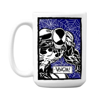 Venom 15 Oz Coffe Mug Designed By Paísdelasmáquinas