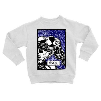 Venom Toddler Sweatshirt Designed By Paísdelasmáquinas