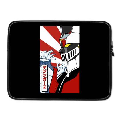 Mazinger Z Laptop Sleeve Designed By Paísdelasmáquinas