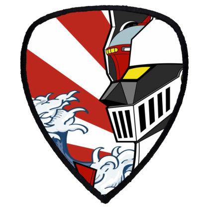 Mazinger Z Shield S Patch Designed By Paísdelasmáquinas