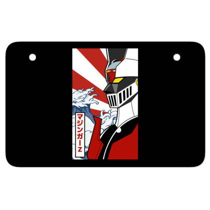 Mazinger Z Atv License Plate Designed By Paísdelasmáquinas