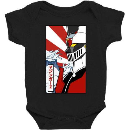 Mazinger Z Baby Bodysuit Designed By Paísdelasmáquinas