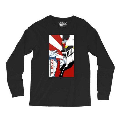 Mazinger Z Long Sleeve Shirts Designed By Paísdelasmáquinas