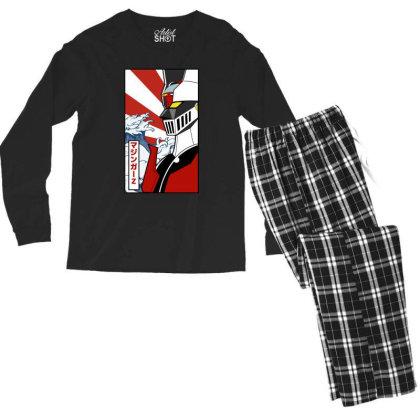 Mazinger Z Men's Long Sleeve Pajama Set Designed By Paísdelasmáquinas