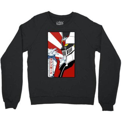 Mazinger Z Crewneck Sweatshirt Designed By Paísdelasmáquinas