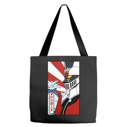 Mazinger Z Tote Bags Designed By Paísdelasmáquinas