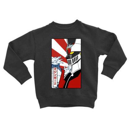 Mazinger Z Toddler Sweatshirt Designed By Paísdelasmáquinas