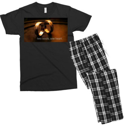 Ring Men's T-shirt Pajama Set Designed By Tjr